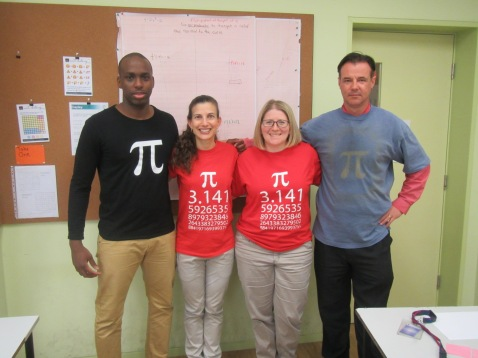 Team Pi Day